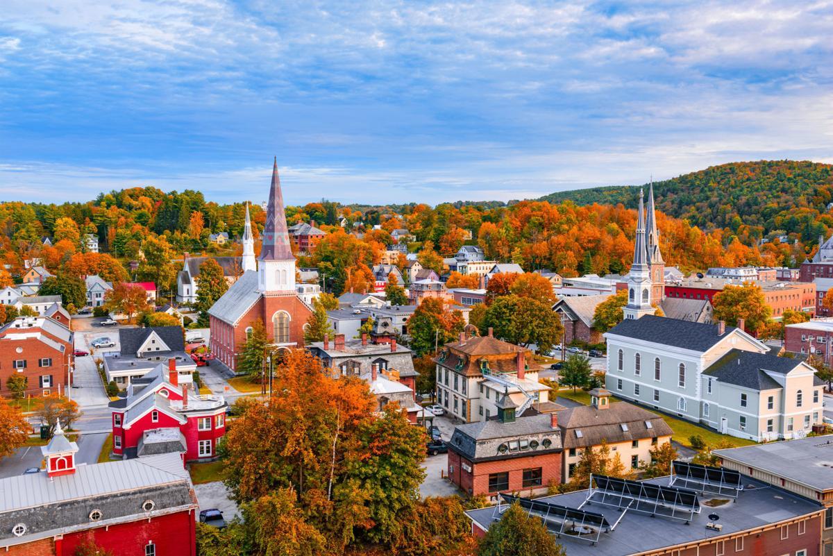 Burlington, Vermont Skyline