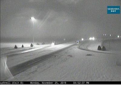 Snow arrives Monday evening in Nebraska