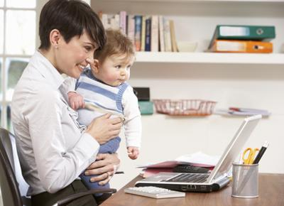 Tips for Moms: Securing Your Home Office