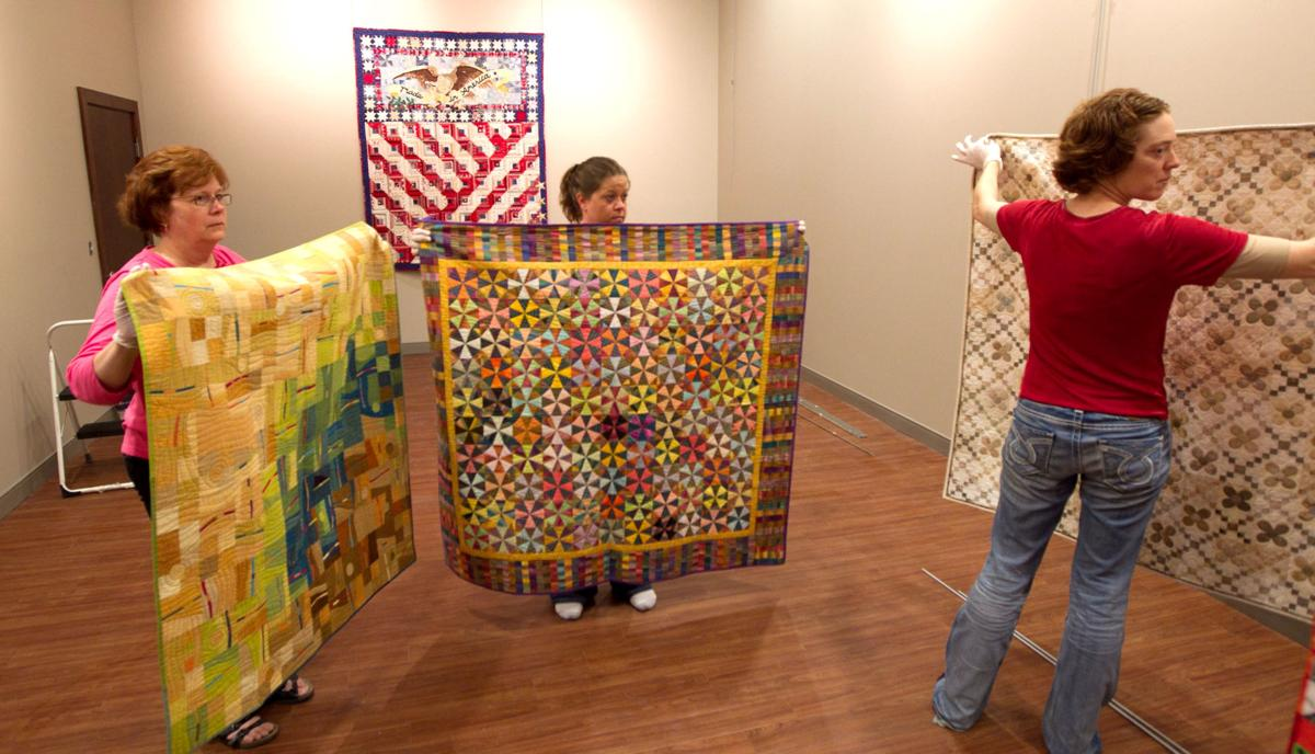 See how quilts are made