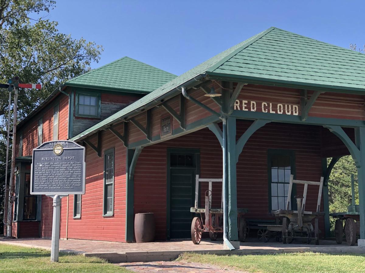 Burlington Depot Red Cloud
