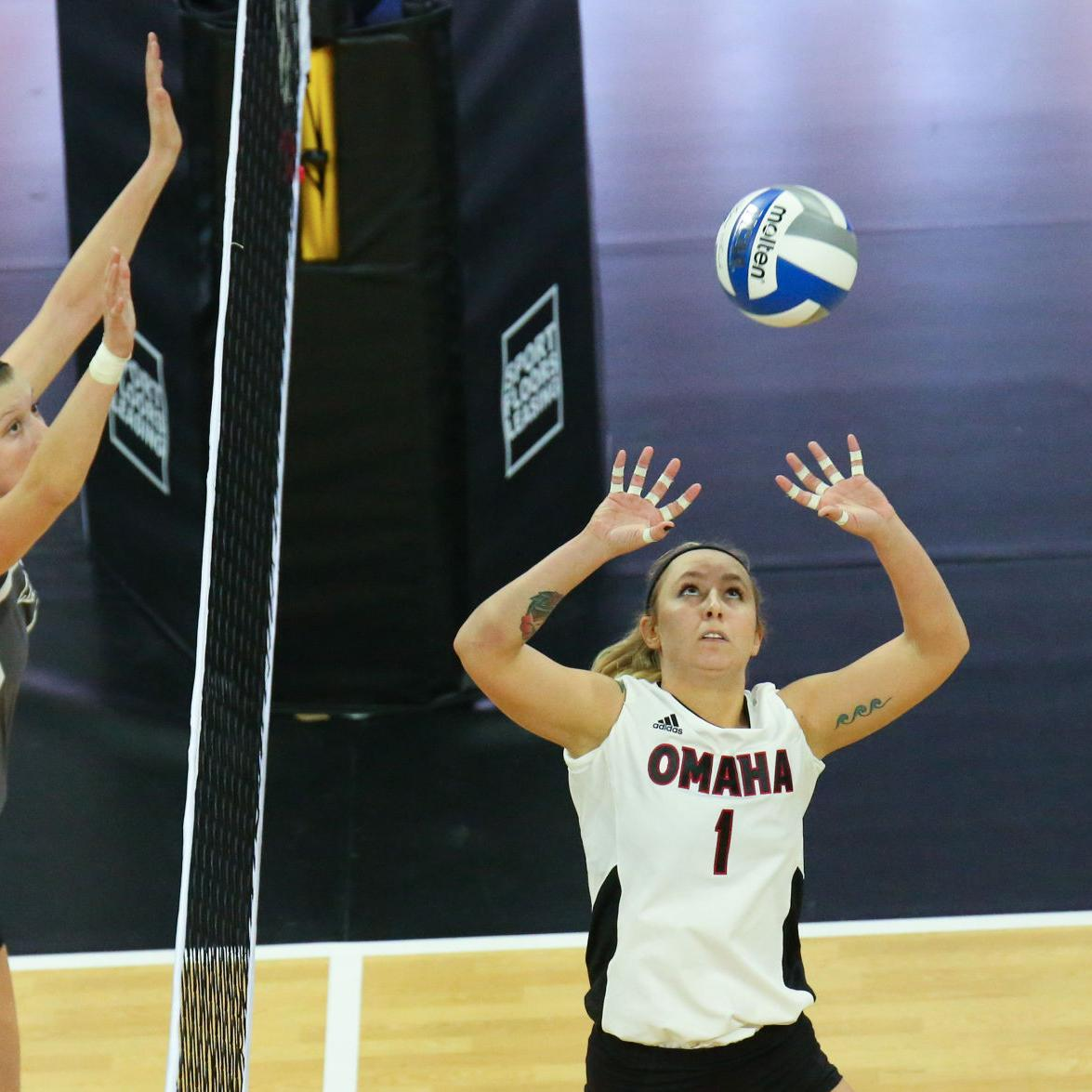 With Huskers coming to Baxter Arena, the Omaha Challenge is what senior setter Sydney O'Shaughnessy envisioned for UNO