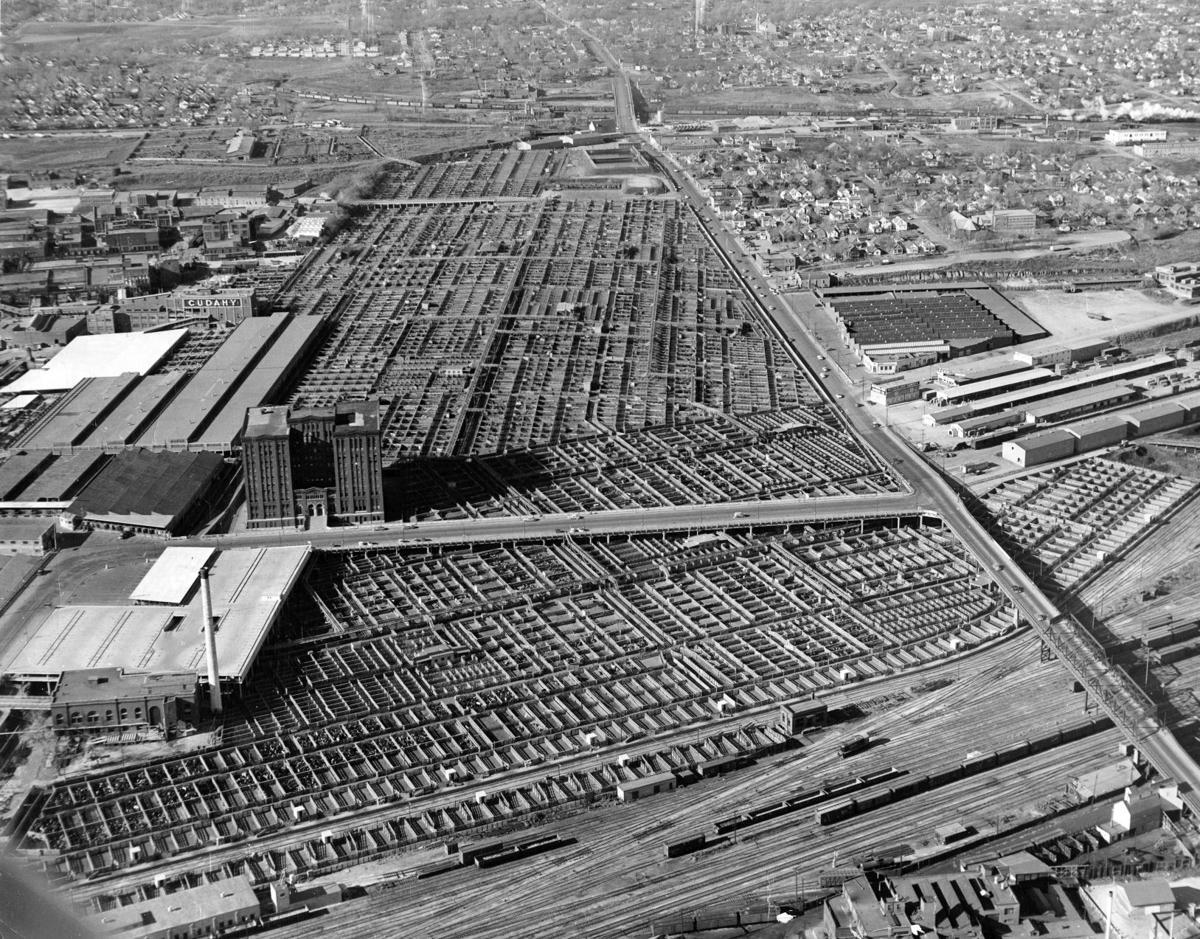 Omaha Stockyards 1954
