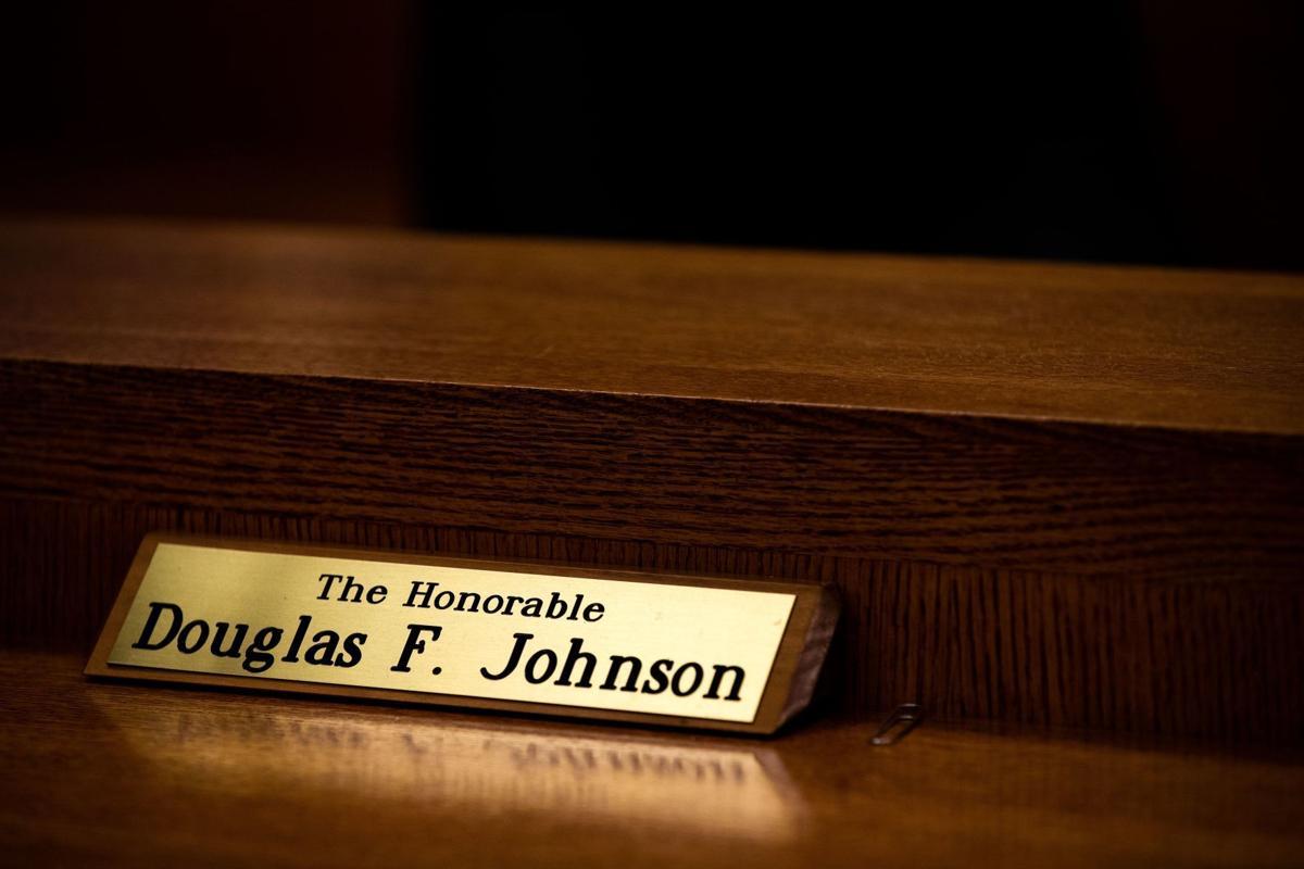 Grace: Retiring judge, 'protector to children,' presides