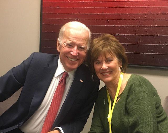 Joe Biden Comforts Omaha Mom Who Like Him Lost A Child To Brain Cancer Live Well Nebraska Omaha Com