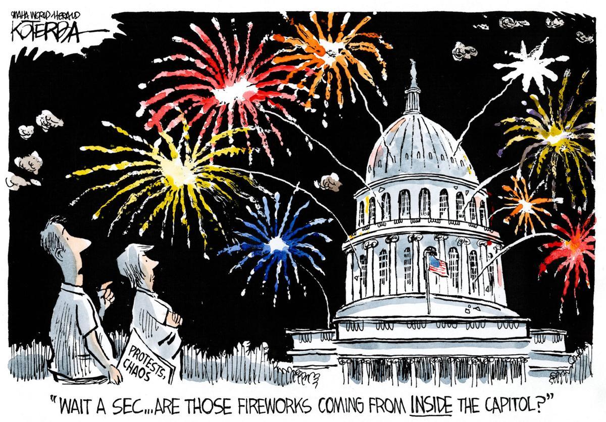 Best of Jeff Koterba: Fireworks cartoons - June 24, 2016