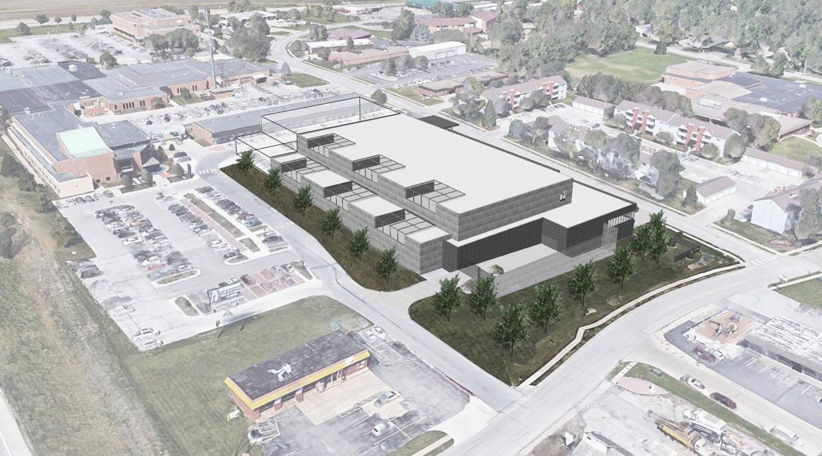 Concept shows new $70 million Sarpy County jail that could