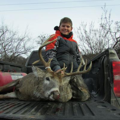 11-year-old bags 16-point buck on opening day
