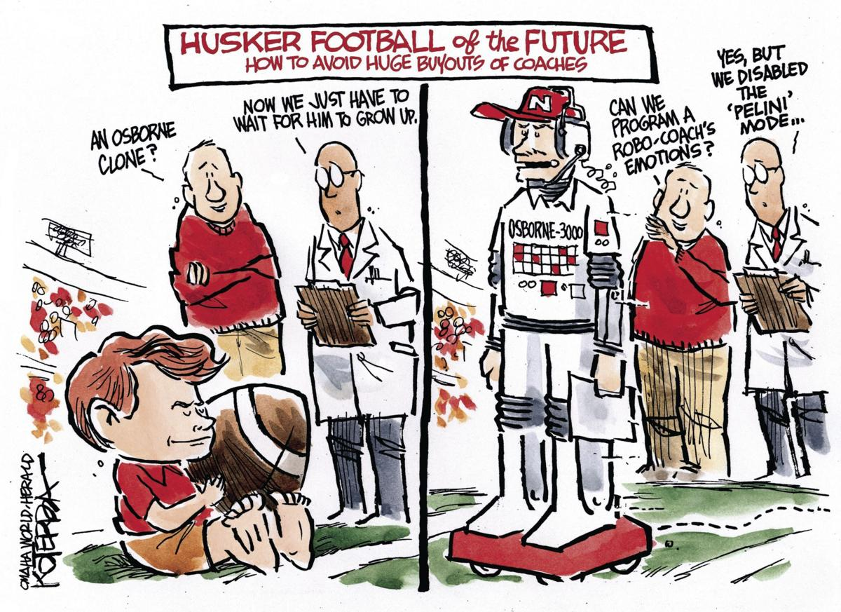 Back at You: Koterba cartoons on Husker football - Nov. 22, 2017