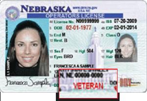 Now Available Licenses Metro Omaha Omaha Veteran com Driver's Nebraska For Designation