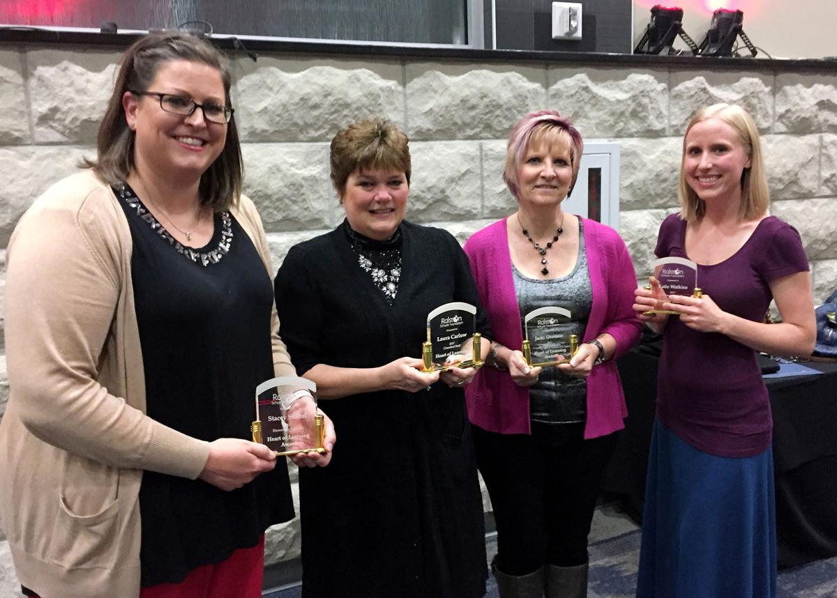 Educators honored during Heart of Learning Awards Banquet