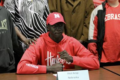 Akol Arop happy to ink with Huskers: 'The coaching staff, facility and players are unbelievable'