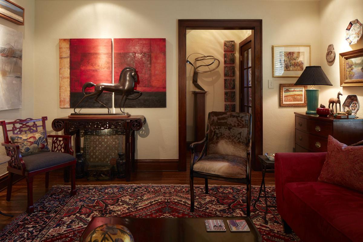 Contemporary living room | Inspired Living Omaha