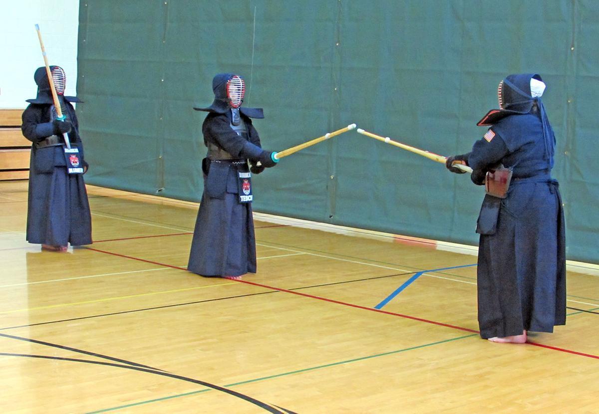 Japanese swordfighting class offered at La Vista Community