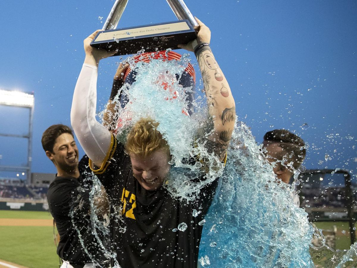 Northern Kentucky's Griffin Doersching hits 20 homers in finals to win College Home Run Derby