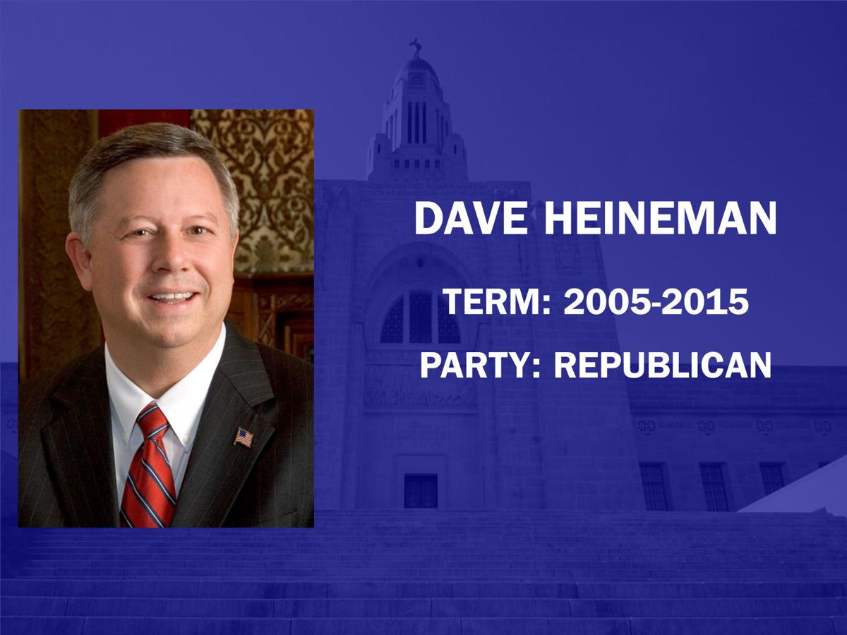 10 Governors Dave Heineman