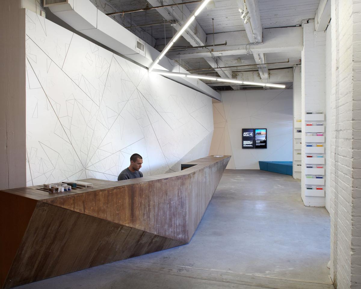 Cement — technically, concrete — the next cool touch in interior design