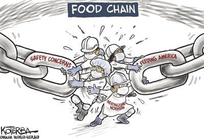 Jeff Koterba's latest cartoon: A key link