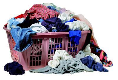 Winter laundry has begun