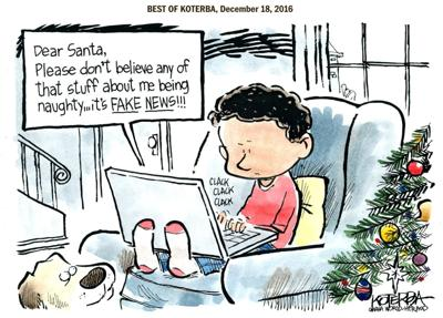 Best of Jeff Koterba's cartoons: Letter to Santa