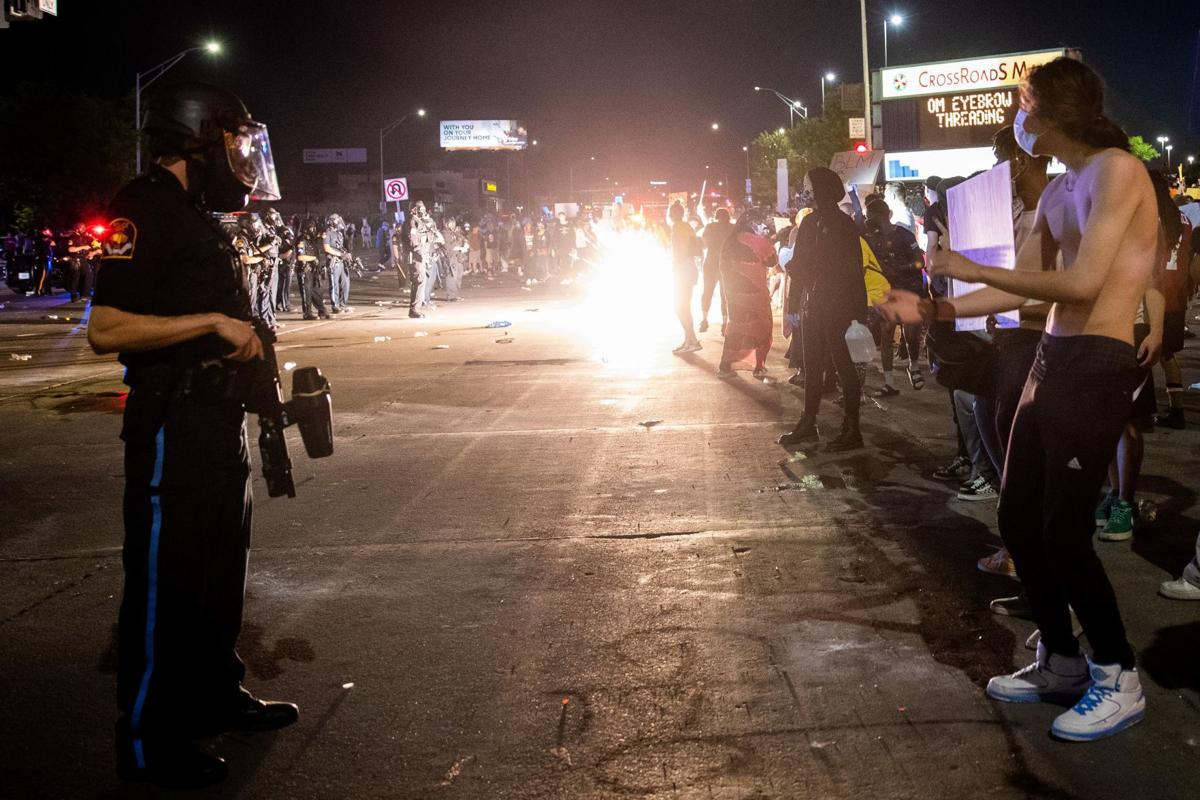 Police chief says Friday night protest could have been worse, but 'turned out to be OK'