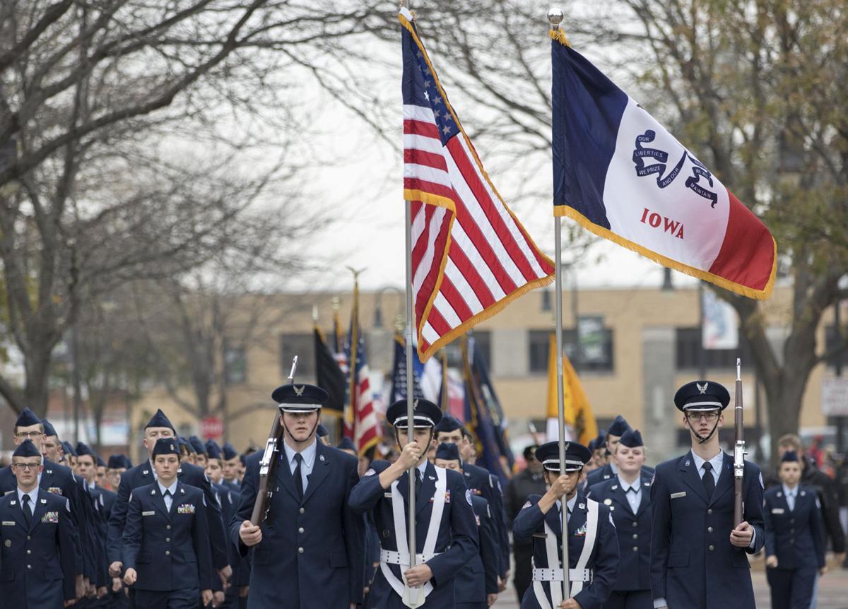 Council Bluffs Veterans Day parade