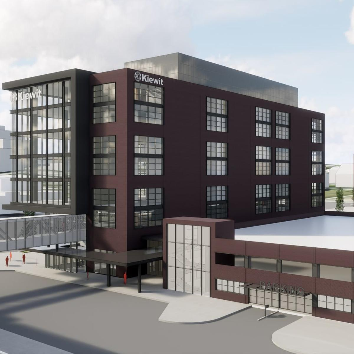Developers of Kiewit headquarters ask city to waive