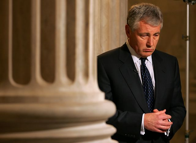 Chuck Hagel's lifetime lessons from battlefield