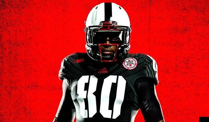 premium selection 53b5a 2bd48 Nebraska's alternate uniform for UCLA game includes black ...