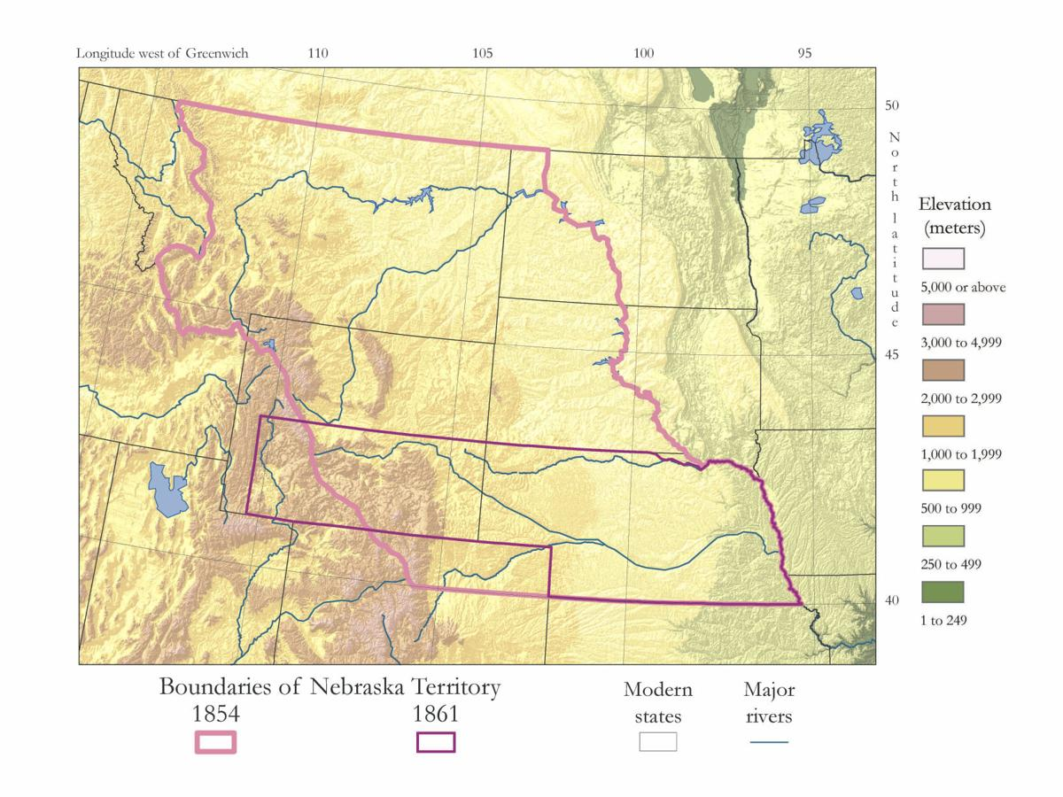 Atlas Of Nebraska Takes A Deep Dive Into State History With - Atlas river