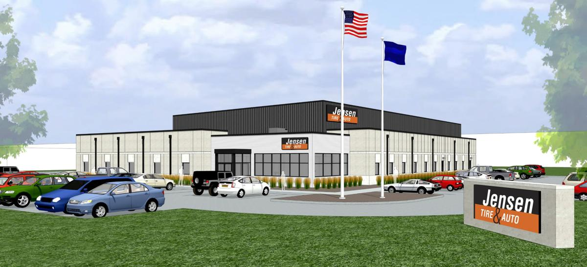 Jensen Tire Auto Starts Construction On New Hq In Sarpy County