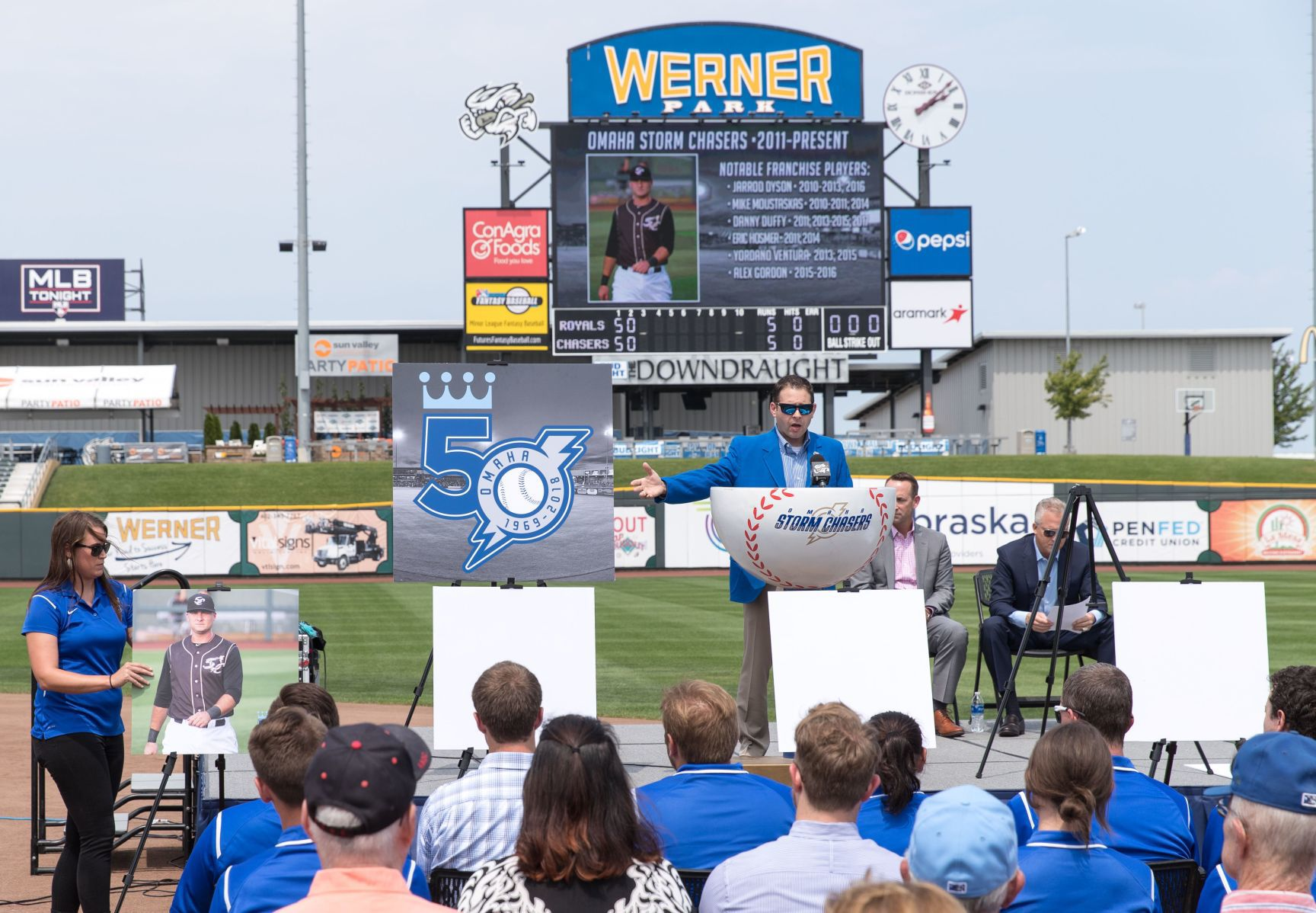 Werner Park field will be ready; Royals, Chasers say let's play ball after last year's rainout