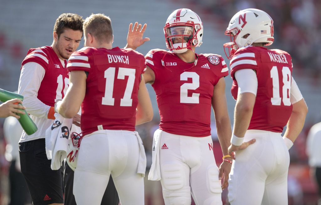 Adrian Martinez is \'good to go\' for practice, but Huskers prep both ...