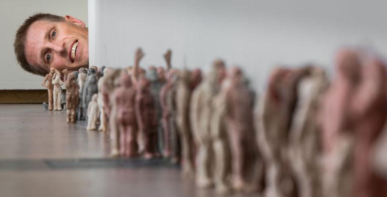 Hansen: Artist infests Omaha with hundreds of tiny vermin sculptures