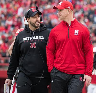 premium selection 6c6d8 570f5 Husker Rewind  It s up to Erik Chinander s Blackshirts to overcome  offense s growing pains