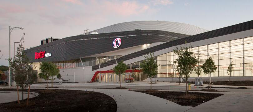 Baxter Gives Omaha Area Its Fourth Arena Officials Trust