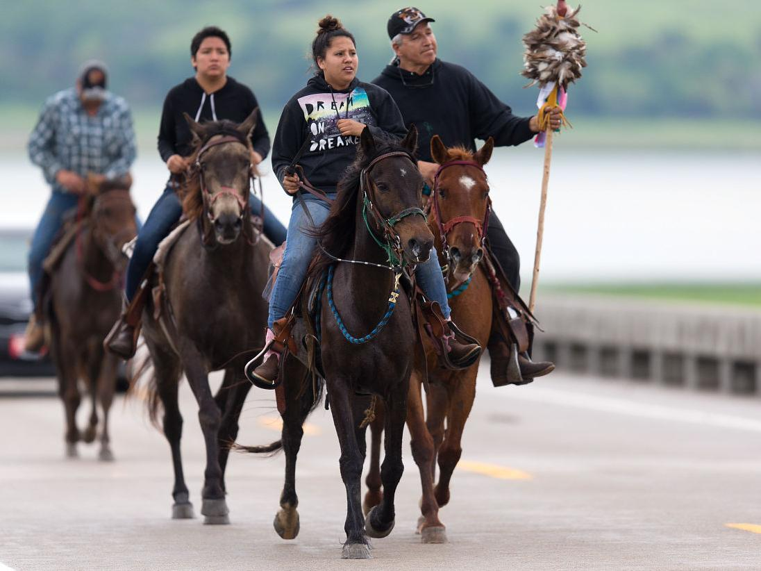 Grace: 180-mile ride sheds light on resilience of Dakota people during dark period of history