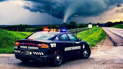 Tornado touches down in southeast Nebraska