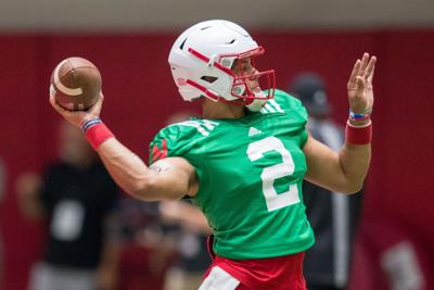 Video: 'You have to accomplish the mission,' Husker QB Adrian Martinez says