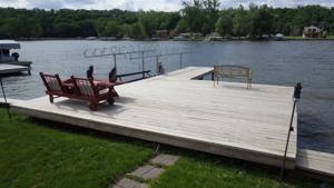 Sherwin Real Estate & Insurance | Lakeside Dock Porch