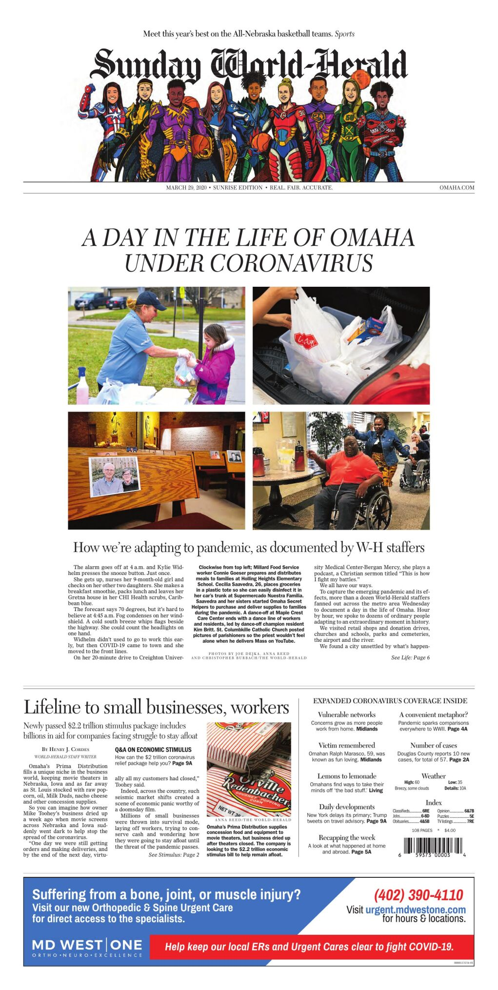 Great Plains Newspaper: March 29, 2020
