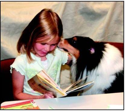 Good dog a good listener for young readers