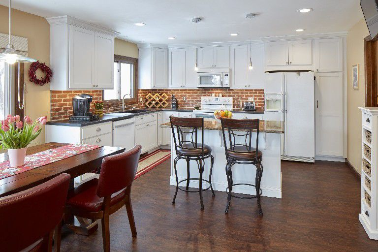 No More Kitchen Peninsula Boys Town Couple S Remodel Uses