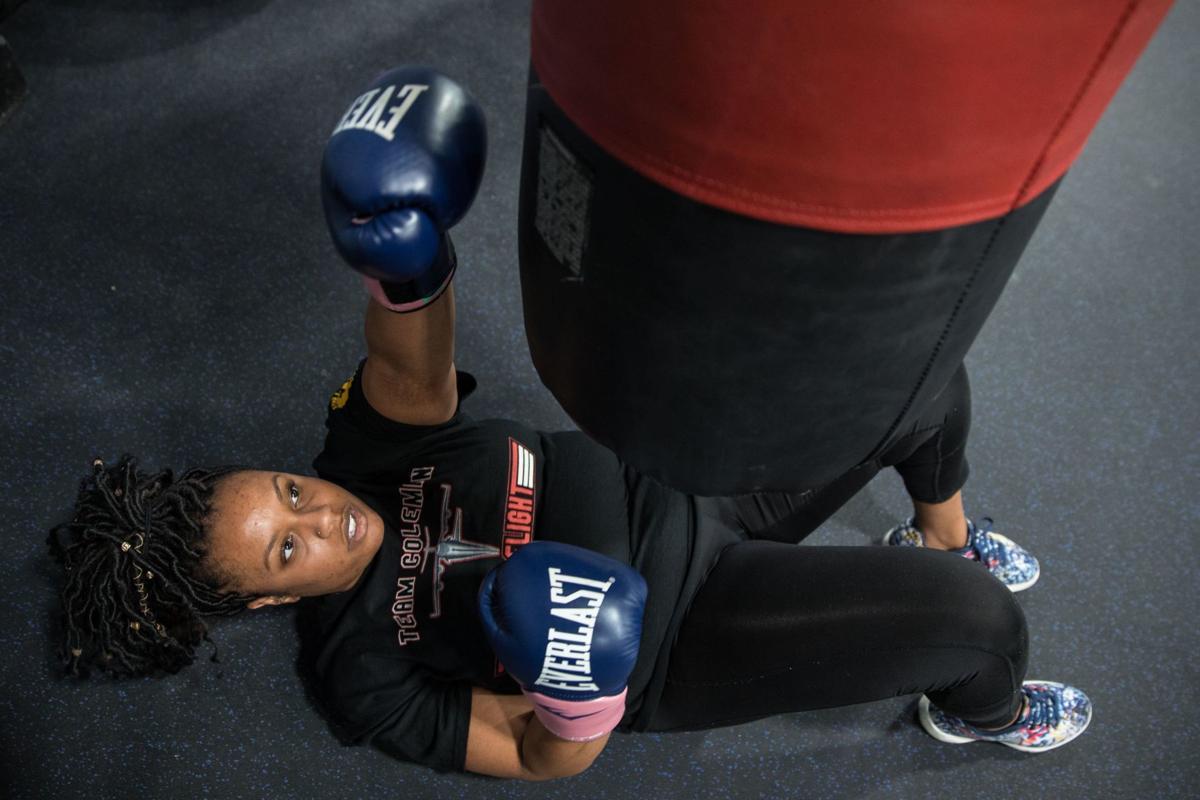 Ashlei Spivey boxing - 4