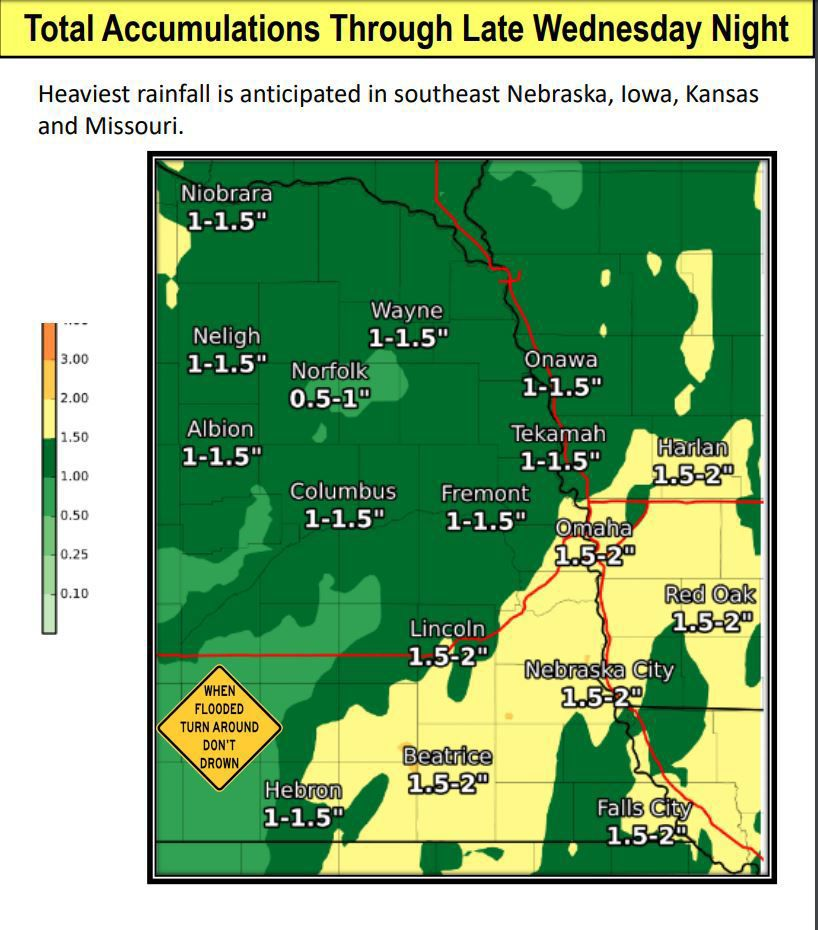 Flash flooding possible as more heavy rain occurs