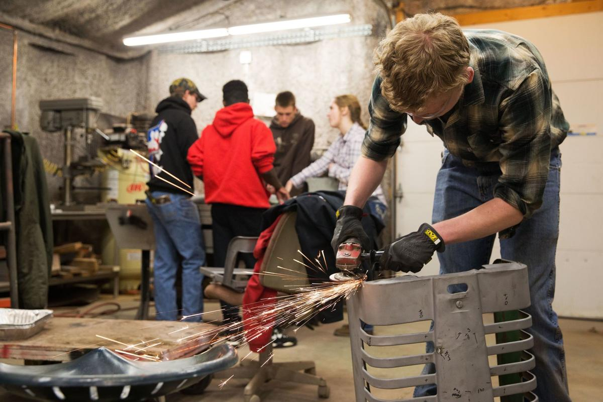 Students in UNL's Tractor Restoration Club help keep history