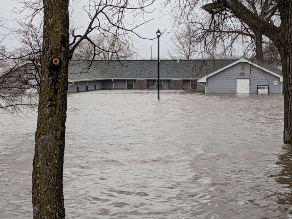 Military flooding woes: Guard's Camp Ashland inundated