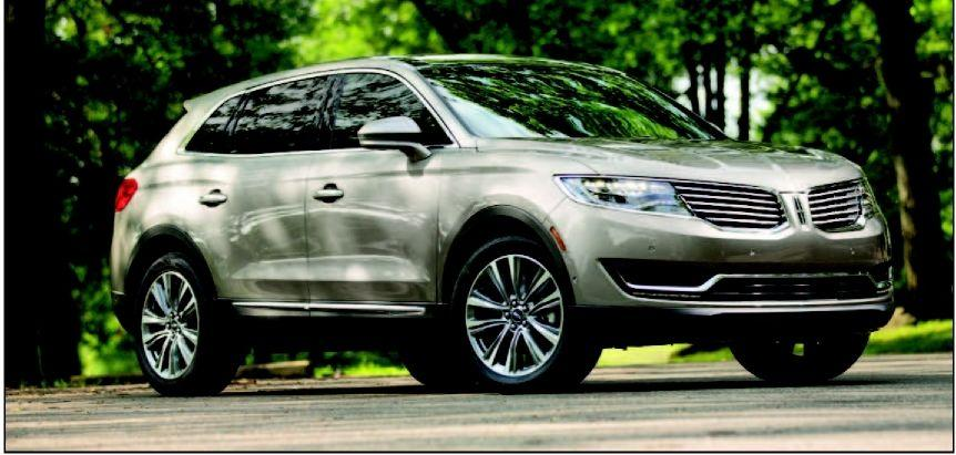 Lincoln piles on the luxury with its 2016 MKX
