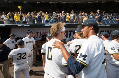 'We came here to win it all': Wolverines have found a home base in Omaha