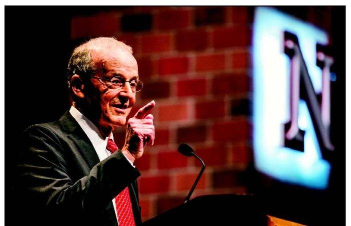 Perlman state address: UNL in better state